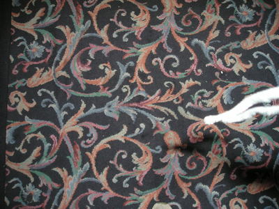 [Yes, all casinos have carpet like this]