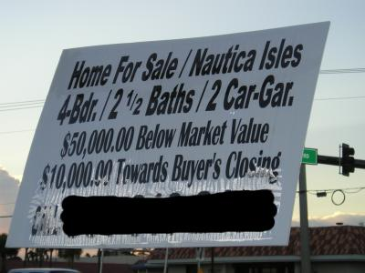 [McMansion for sale!  Quick!  Hurry!  I'm hemoraging money here!]