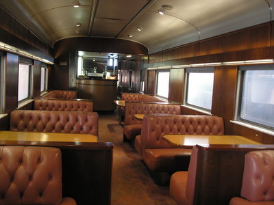 [See?  Now this is a dining car!]