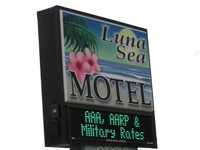 [Luna Sea Motel: AAA, AARP & Military Rates]