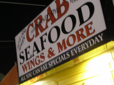 "[Although, do crabs really consider being eaten ""heaven?""]"