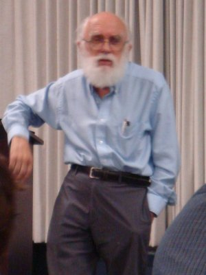 [James Randi.  Photograph by Bunny]
