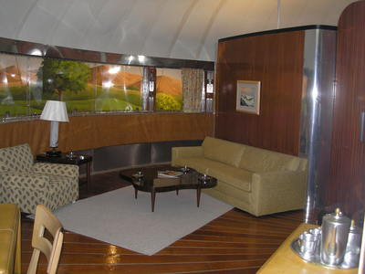 [Dymaxion House Living Room]