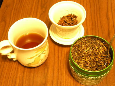 [Loose-leaf tea, baby!]