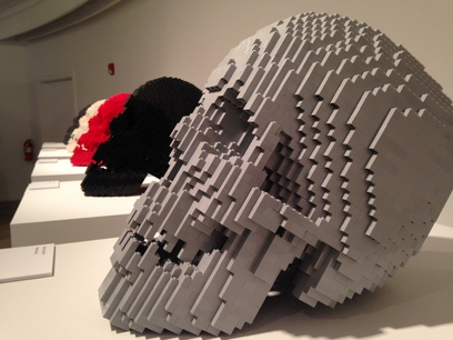 [Lego skulls are the rage—crystal skulls are just so passé these days]