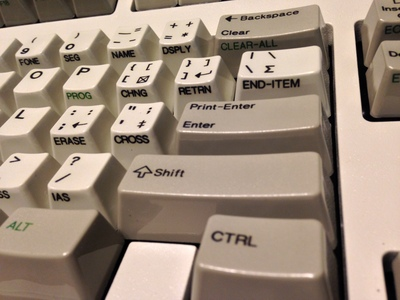[This is making up for that IBM Model M with APL keycaps I missed getting by 10 seconds years ago.]